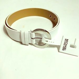Michael Kors Accessories - Michael Kors white Belt!